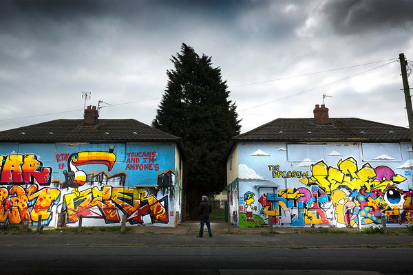 The street art helping to prevent crime and anti-social behaviour