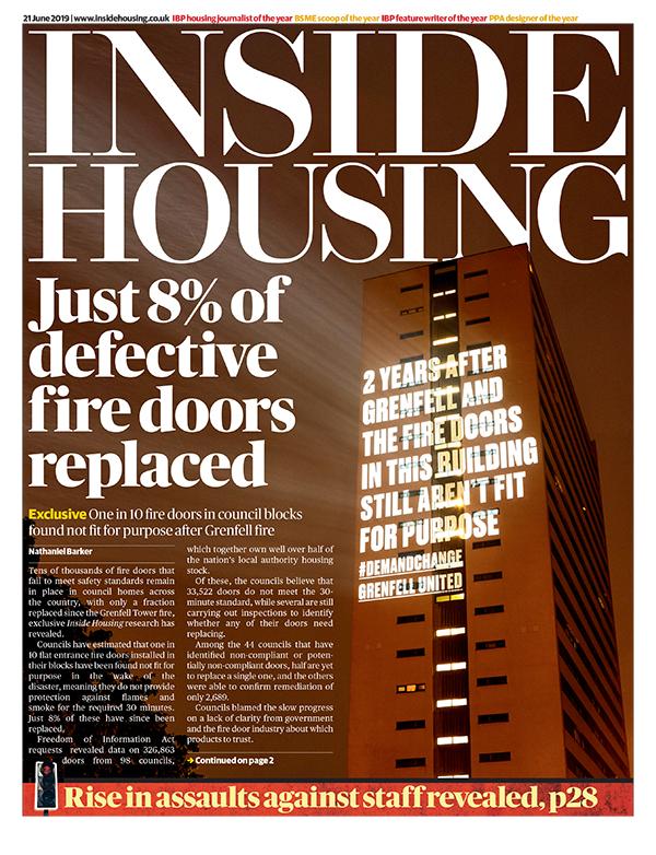 Inside Housing Digital Edition – 21 June 2019