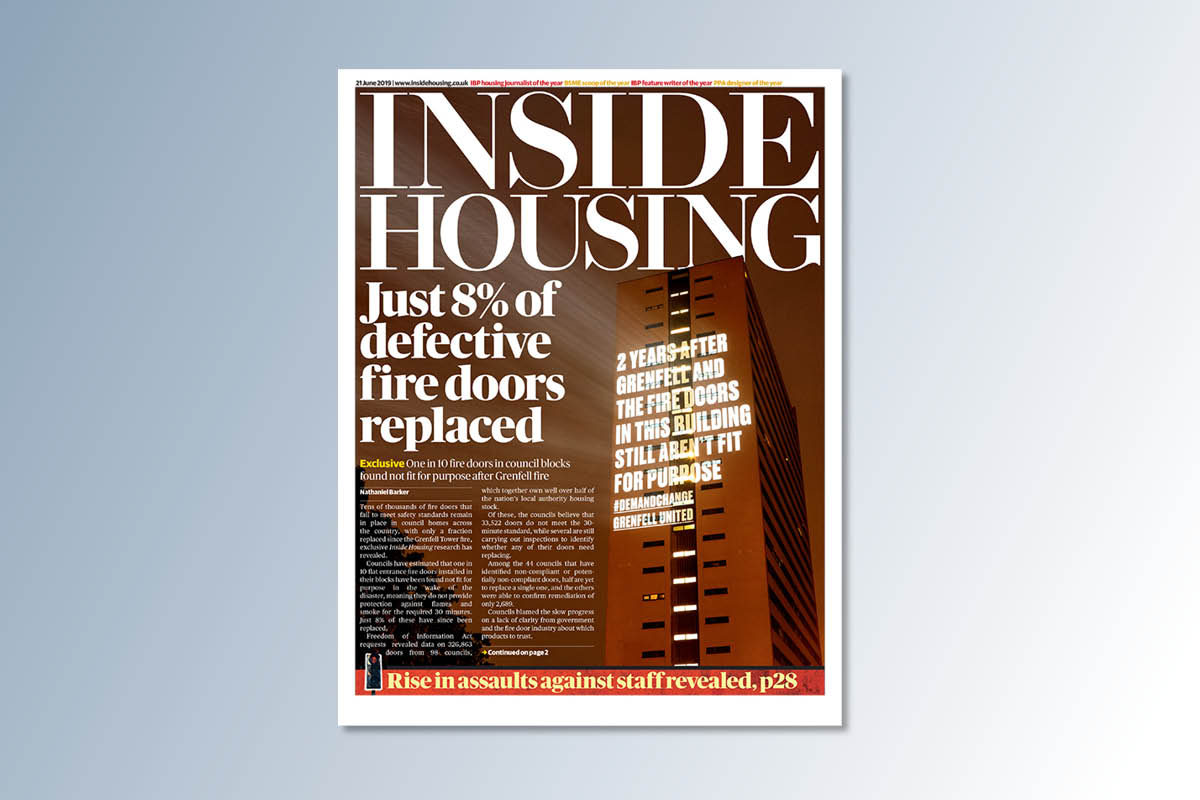 21 June digital edition of Inside Housing out now