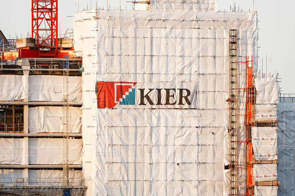 Kier's housebuilding arm posts £89m loss
