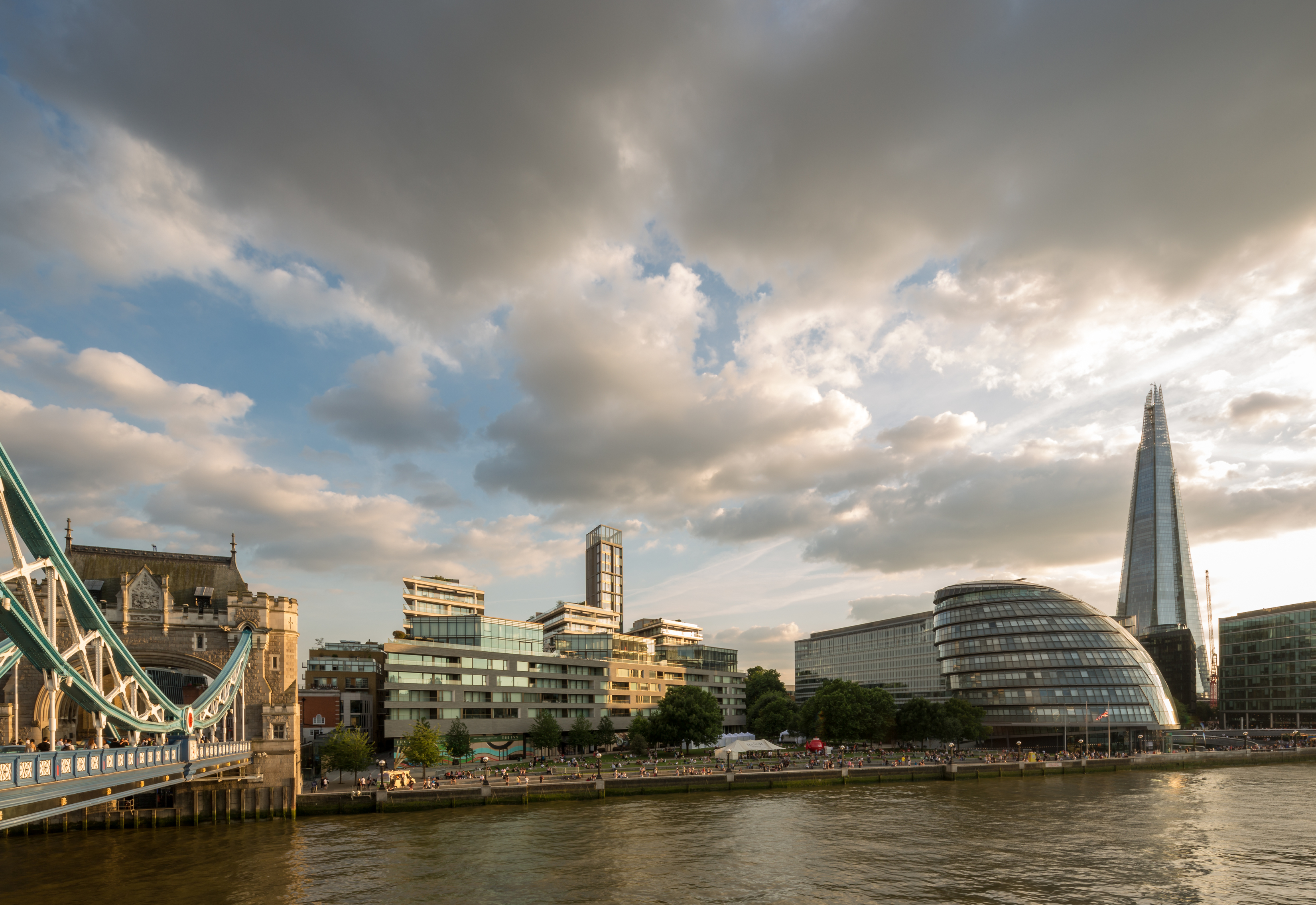 One Tower Bridge masterplan links the Shad Thames warehouse stock and contemporary More London Place