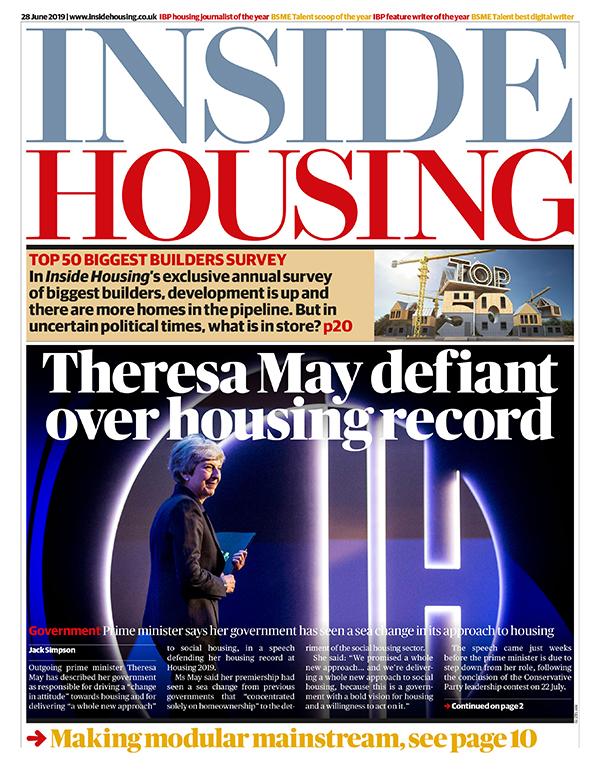 Inside Housing Digital Edition – 28 June 2019