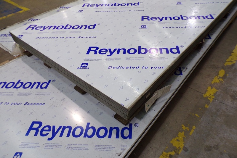 Reynobond cladding panels were installed on Grenfell Tower (picture: Ian Abley)