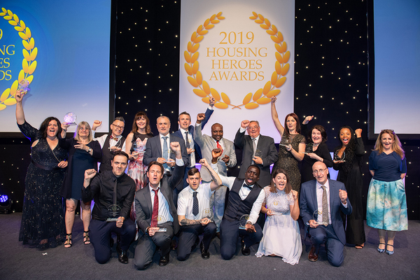 Why they won – full details of the Housing Heroes Awards 2019 winners