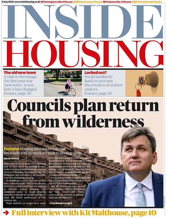 Inside Housing Digital Edition – 12 July 2019