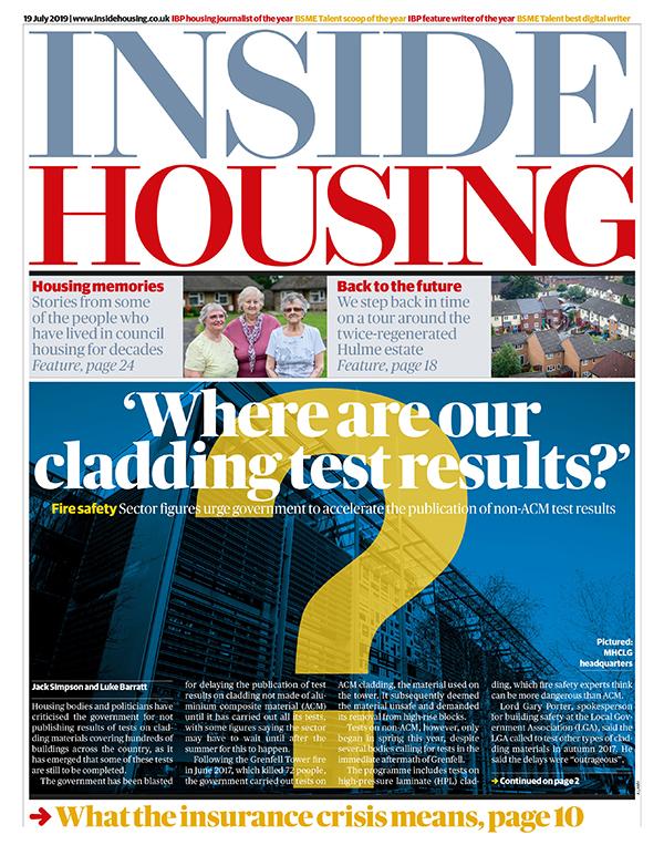 Inside Housing Digital Edition – 19 July 2019
