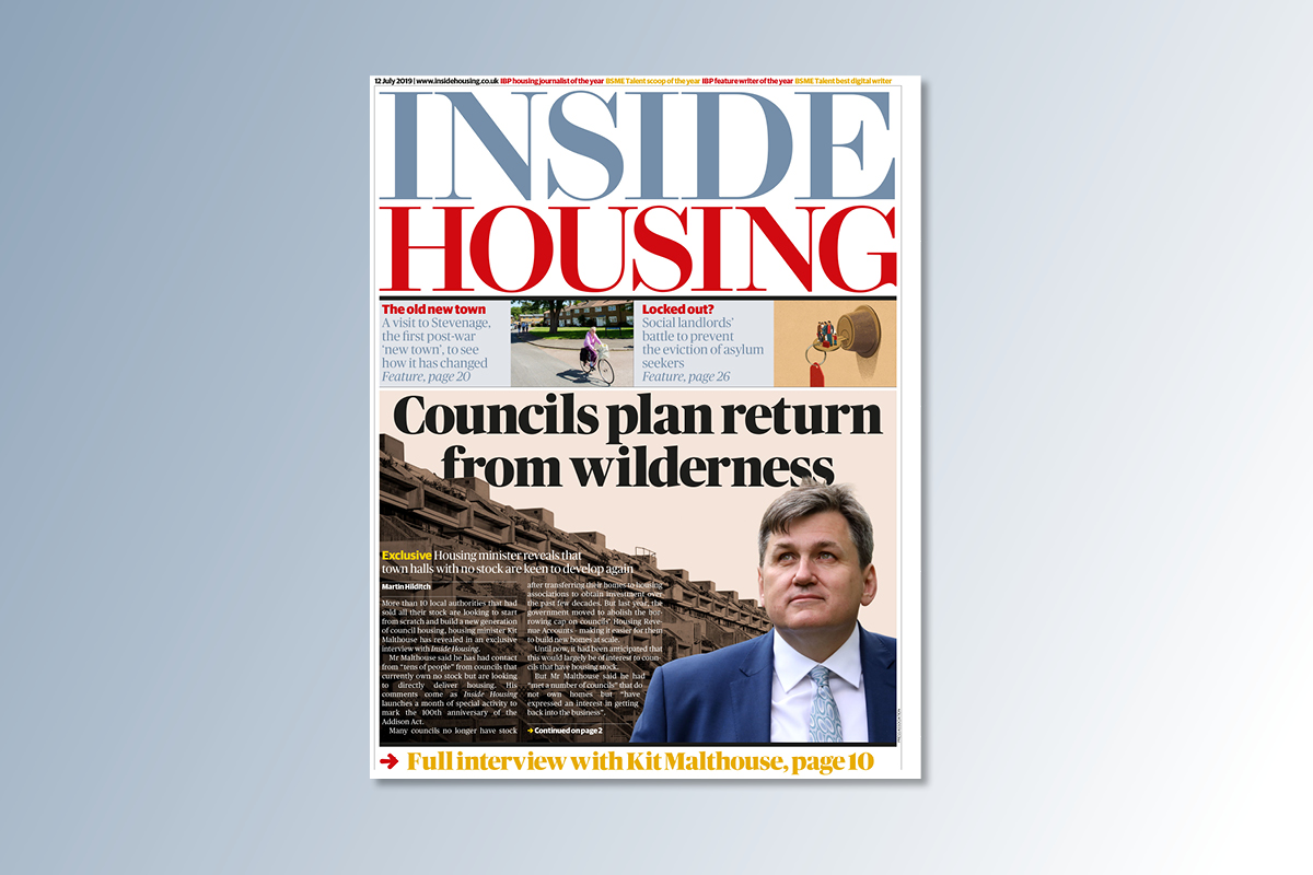 12 July digital edition of Inside Housing out now