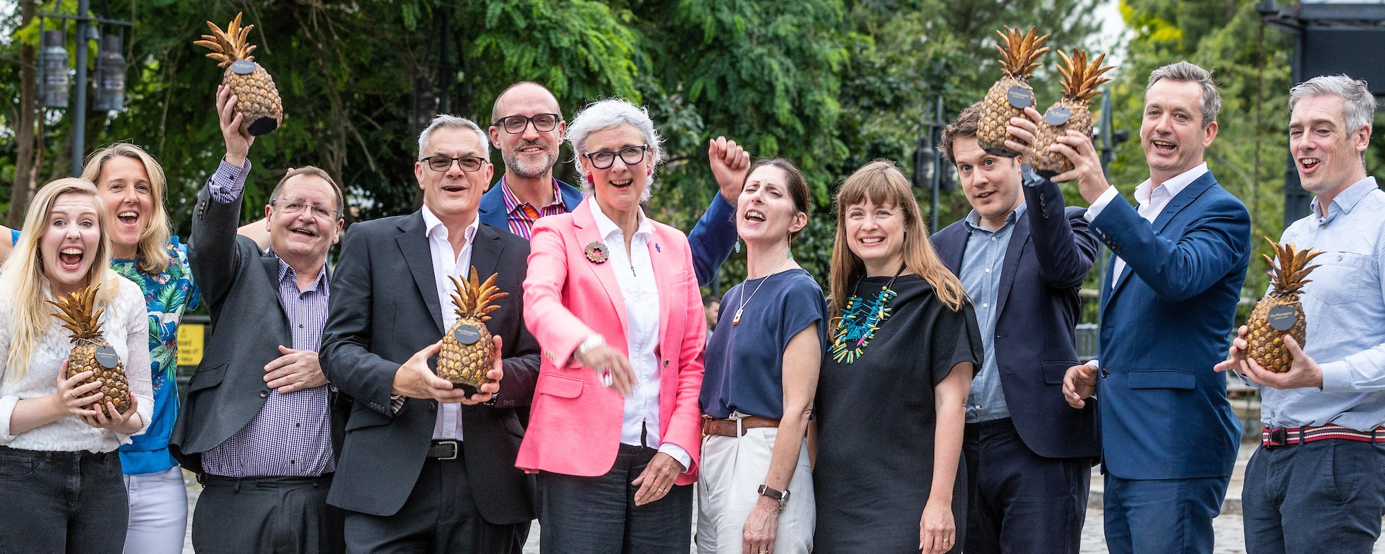Early Bird deadline ends 24 Jan: Entries now open for The Pineapples