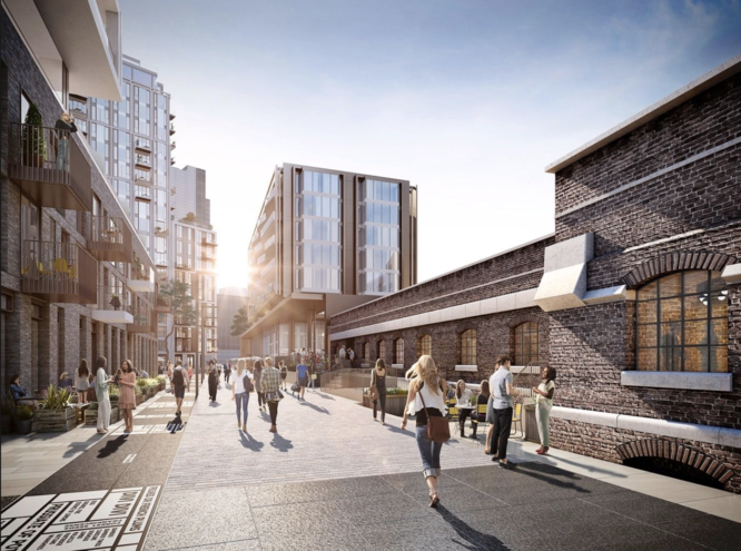 Place in Progress winner: London Dock – St George City with Patel Taylor
