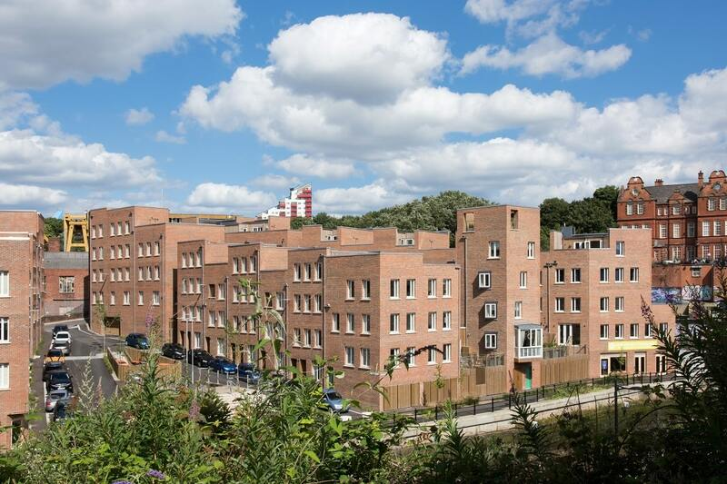 The Malings development in Newcastle, which was praised by the commission (picture: Jill Tate)
