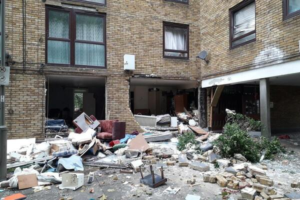 Council tenant dies in hospital after Wandsworth explosion