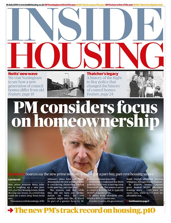 Inside Housing Digital Edition – 26 July 2019