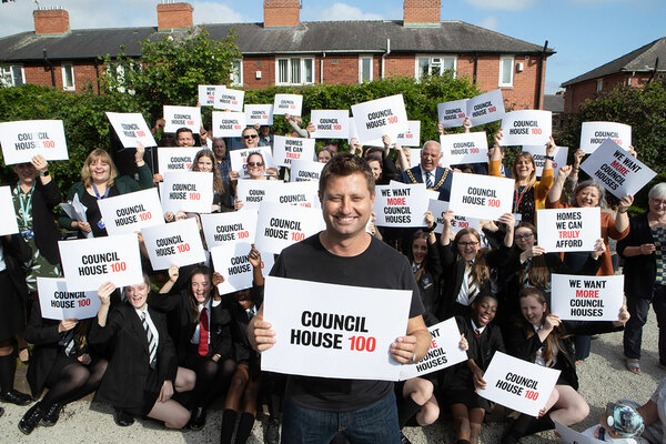 How George Clarke is aiming to end the housing crisis with his new TV show