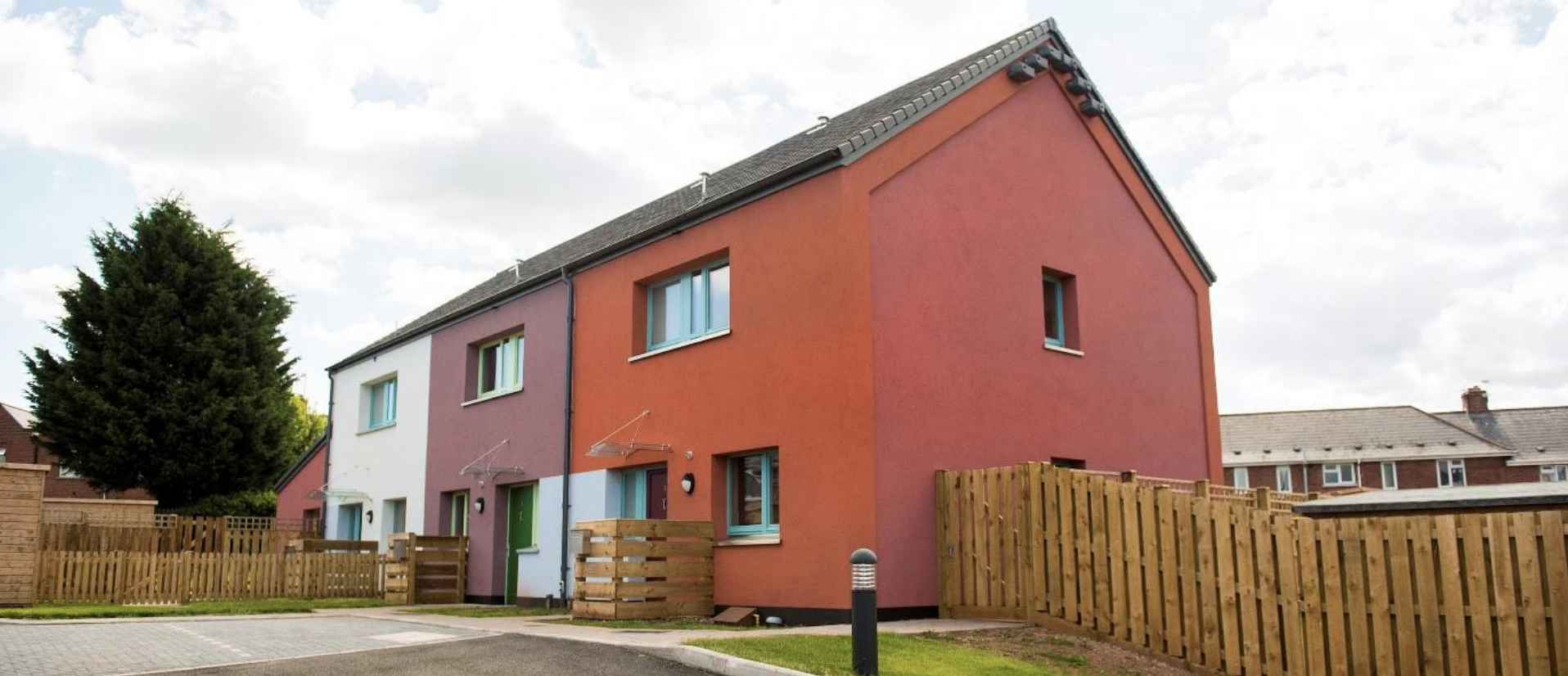 Passivhaus housing in Exeter