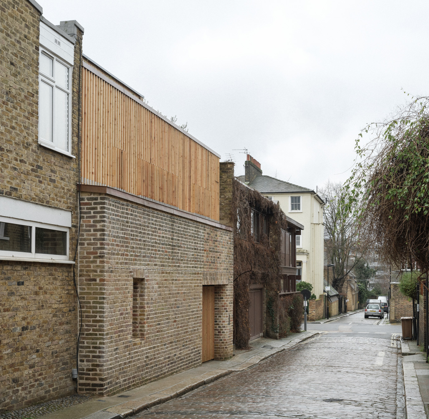Max Fordham House: London Passivhaus on an infill site by Bere Architects