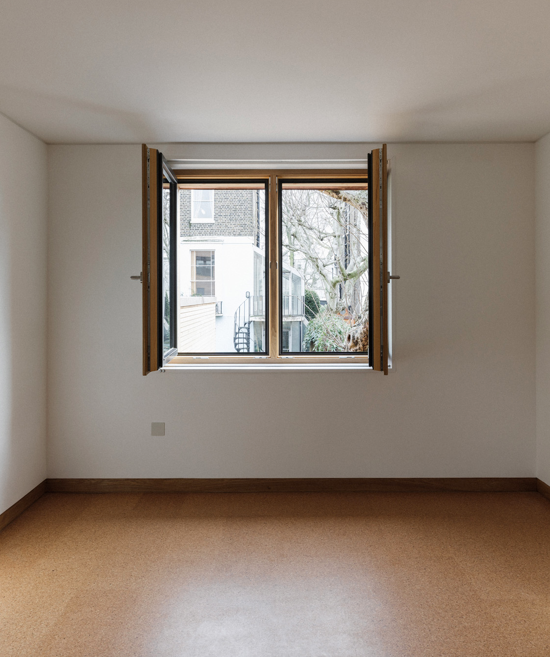 Inside Max Fordham House: there is a misconception that Passivhaus windows don't open