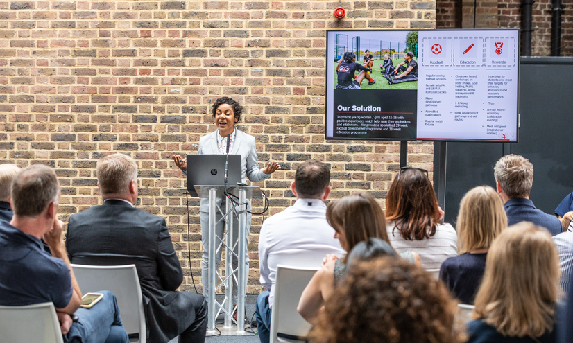 Francesca Brown, chief executive at Goals 4 Girls