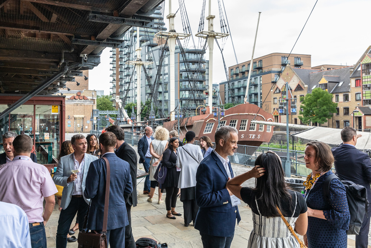 Festival of Place at Tobacco Dock in Shadwell, east London