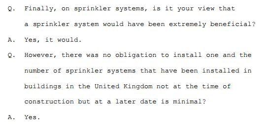 David Walker's evidence at Lakanal