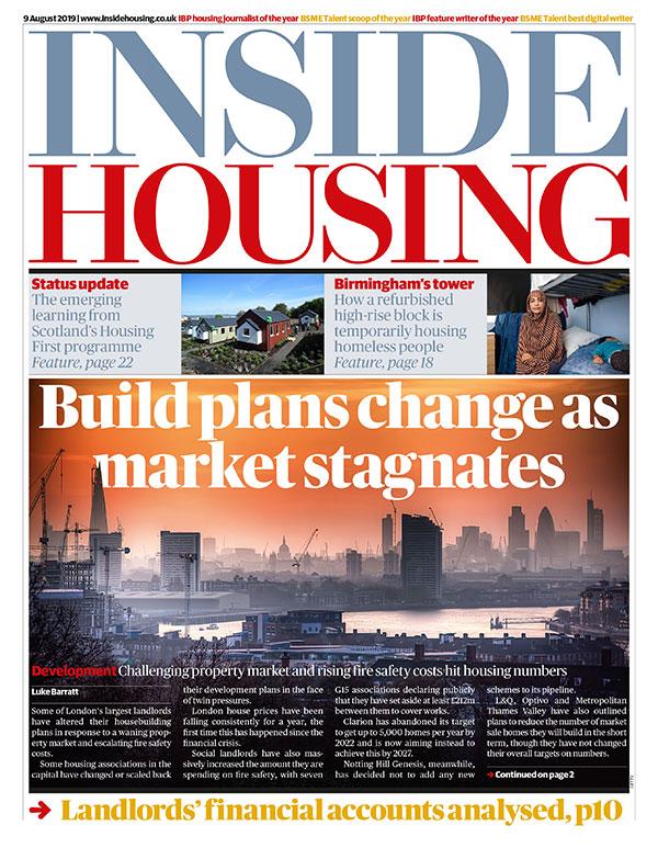 Inside Housing Digital Edition – 9 August 2019