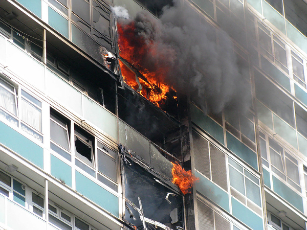 Flammable window panels: the forgotten threat