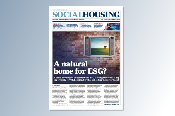 September digital edition of Social Housing out now