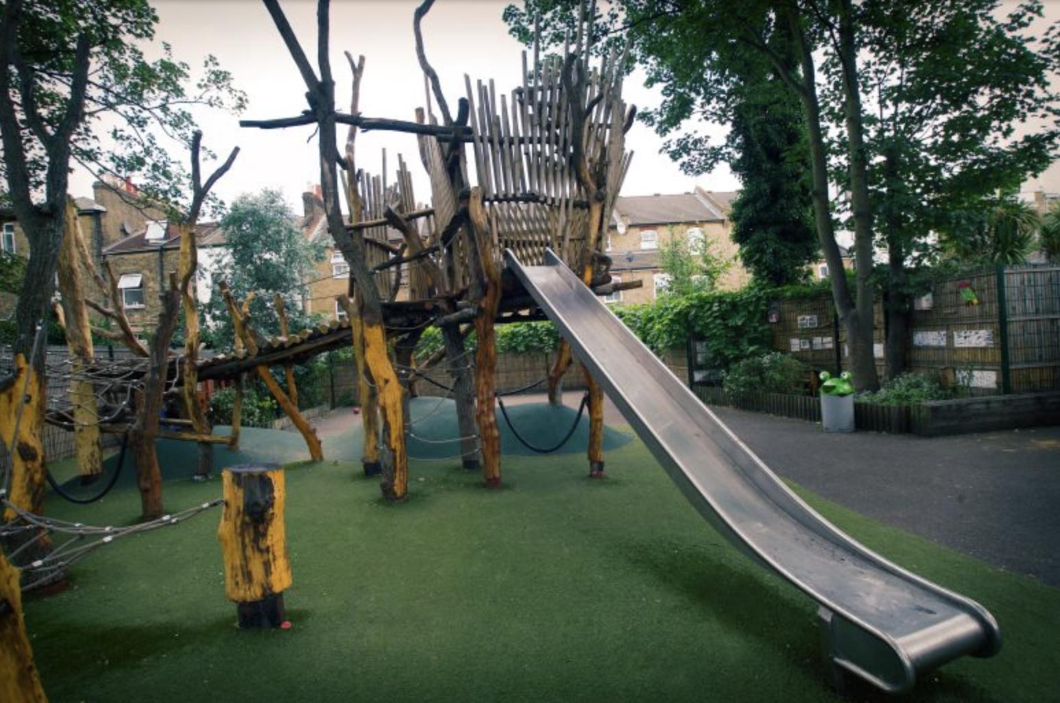 Erect's innovative playground at Columbia Primary School