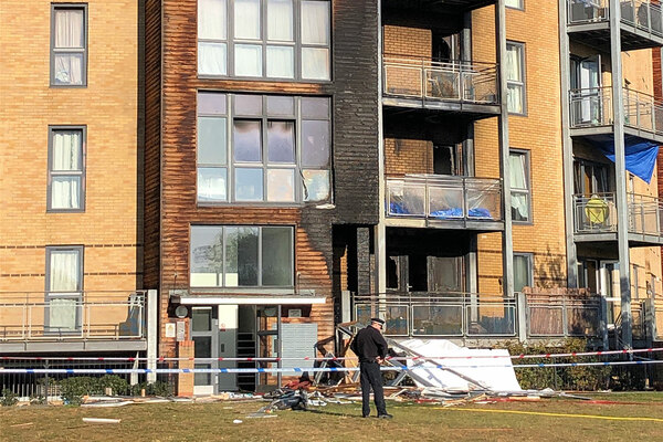 Revealed: type of cladding present on Hackney fire block
