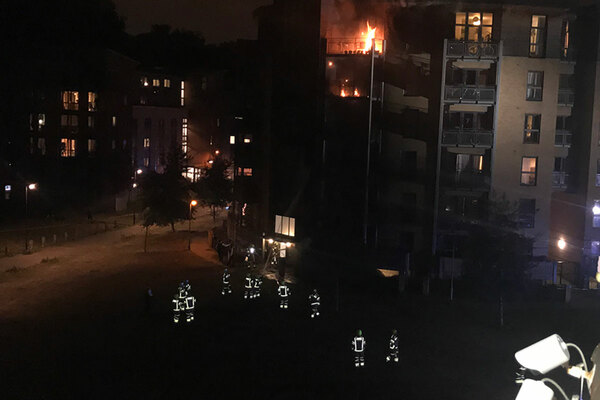 Residents in temporary accommodation displaced by Clapton fire