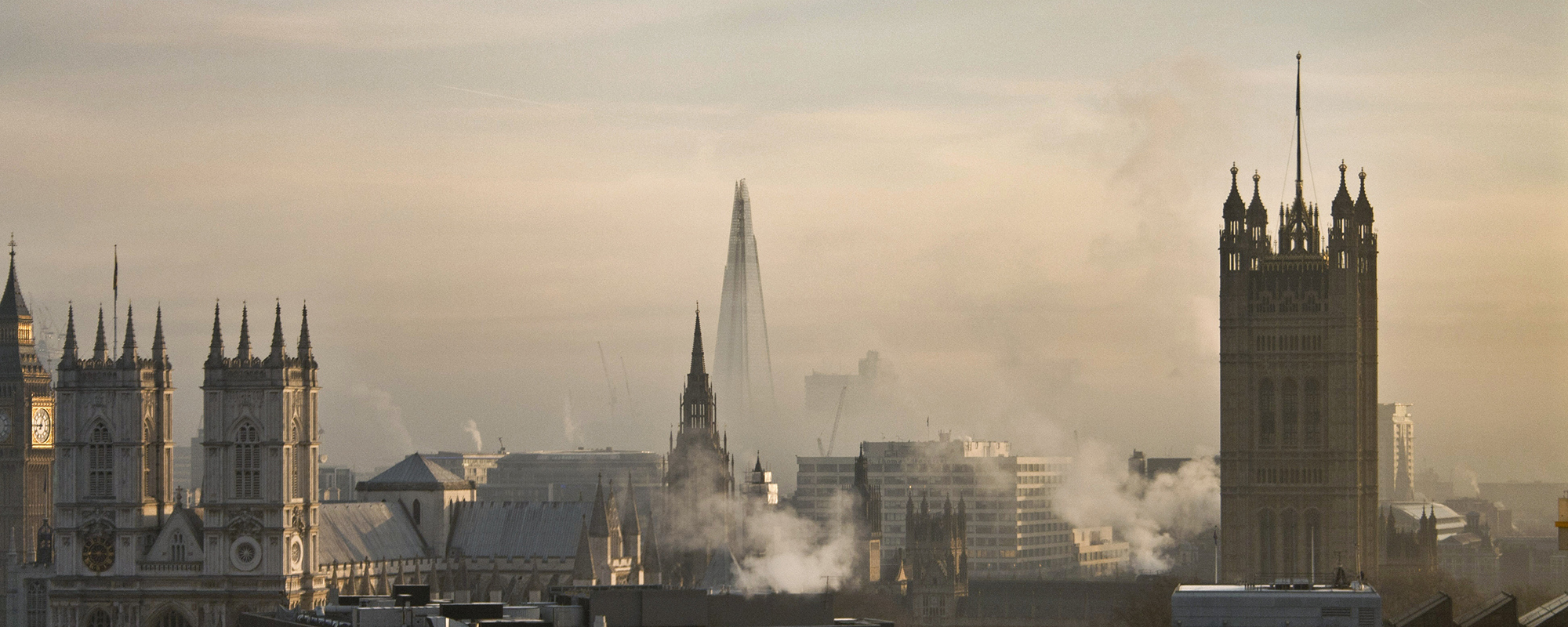 Air pollution in London is one cause of a growing exodus. Getty Images