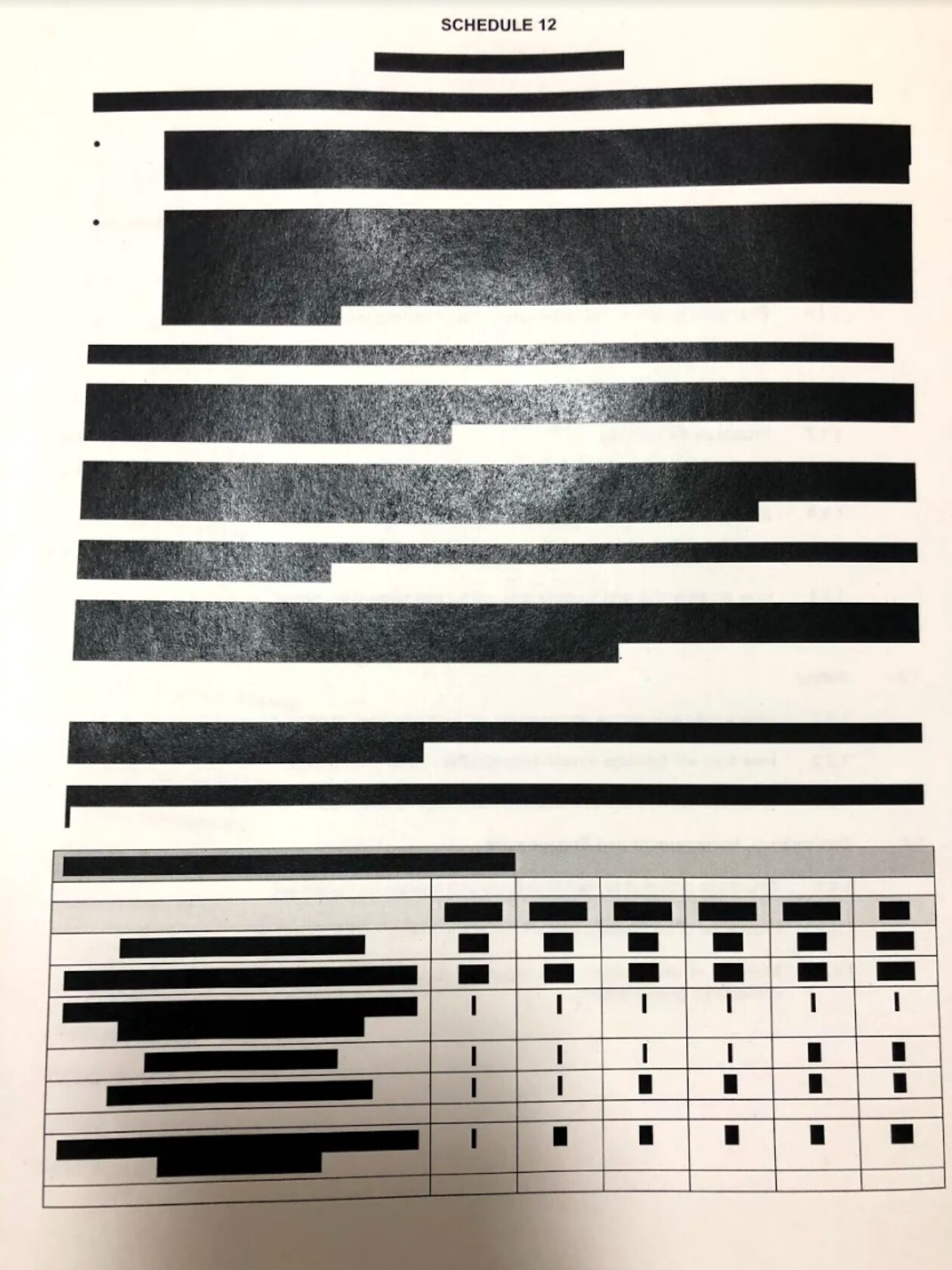 Haringey Council supplied a heavily redacted contract with property developers
