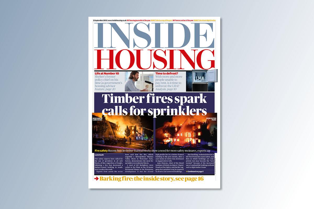 13 September digital edition of Inside Housing out now