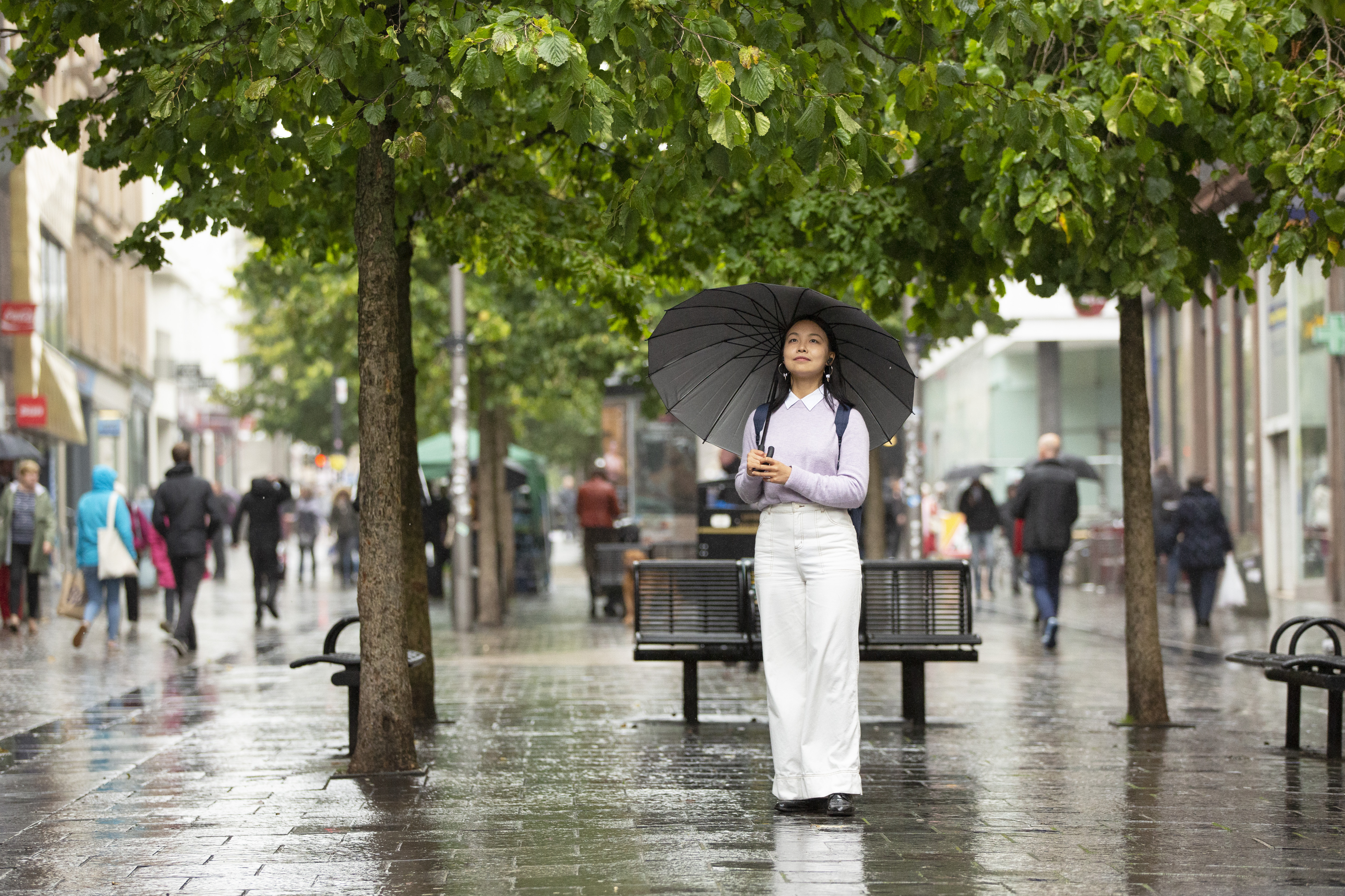 £7.2m has been spent on public realm improvements for Sauchiehall Street