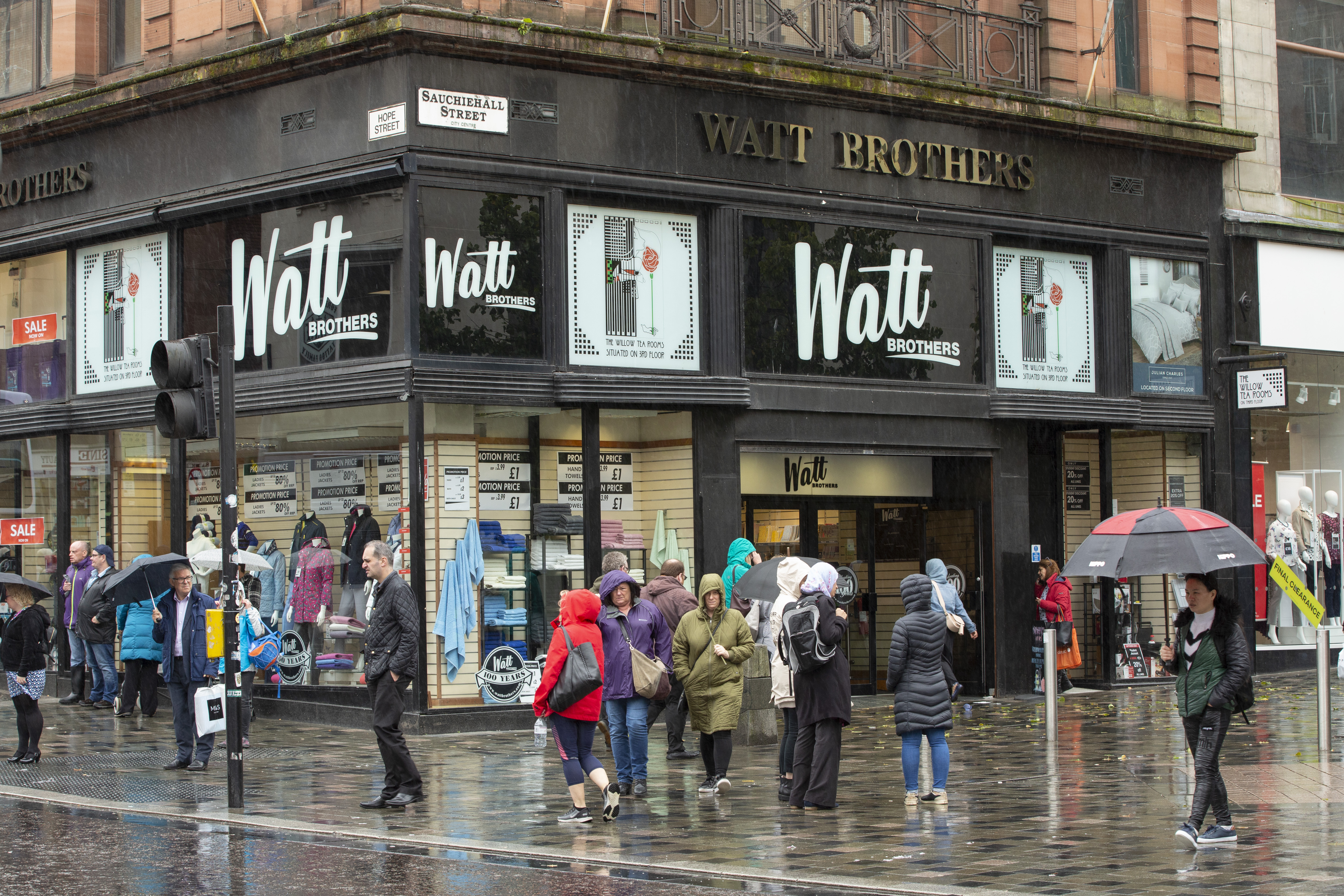 Watt Brothers, celebrating its centenary, has the air of a closing down sale