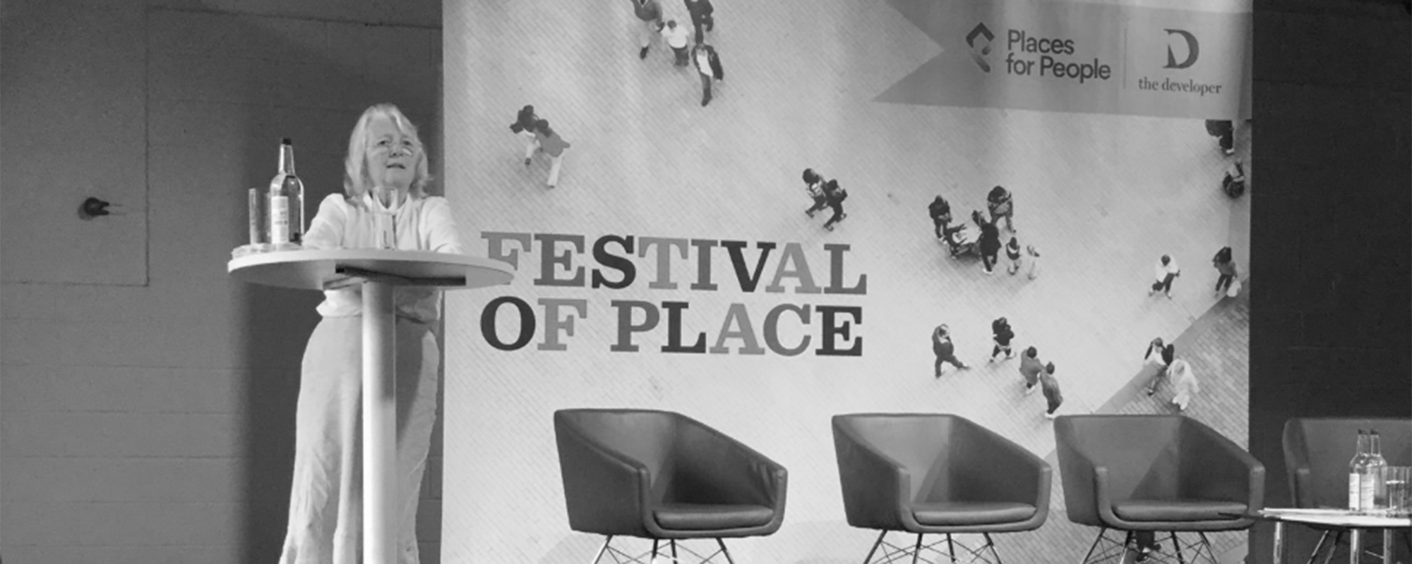 Anne Power at the Festival of Place 2019