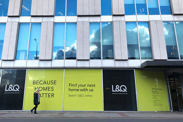 L&Q welcomes new lender, as it 'pauses' taking on new sites