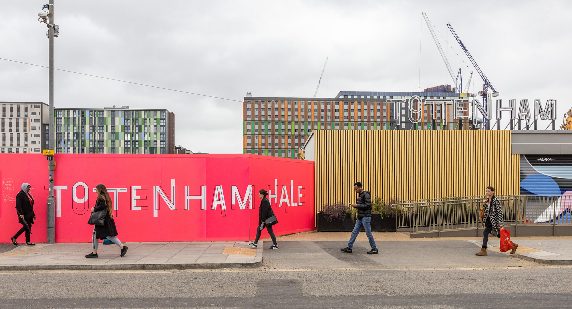 Argent Related is developing 1,030 new homes near Tottenham Hale Station