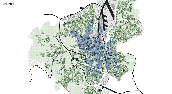 De Urbanisten's plans to transform Ghent into a blue city