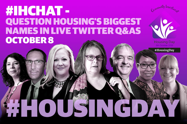 #IHchat programme on Housing Day 2019