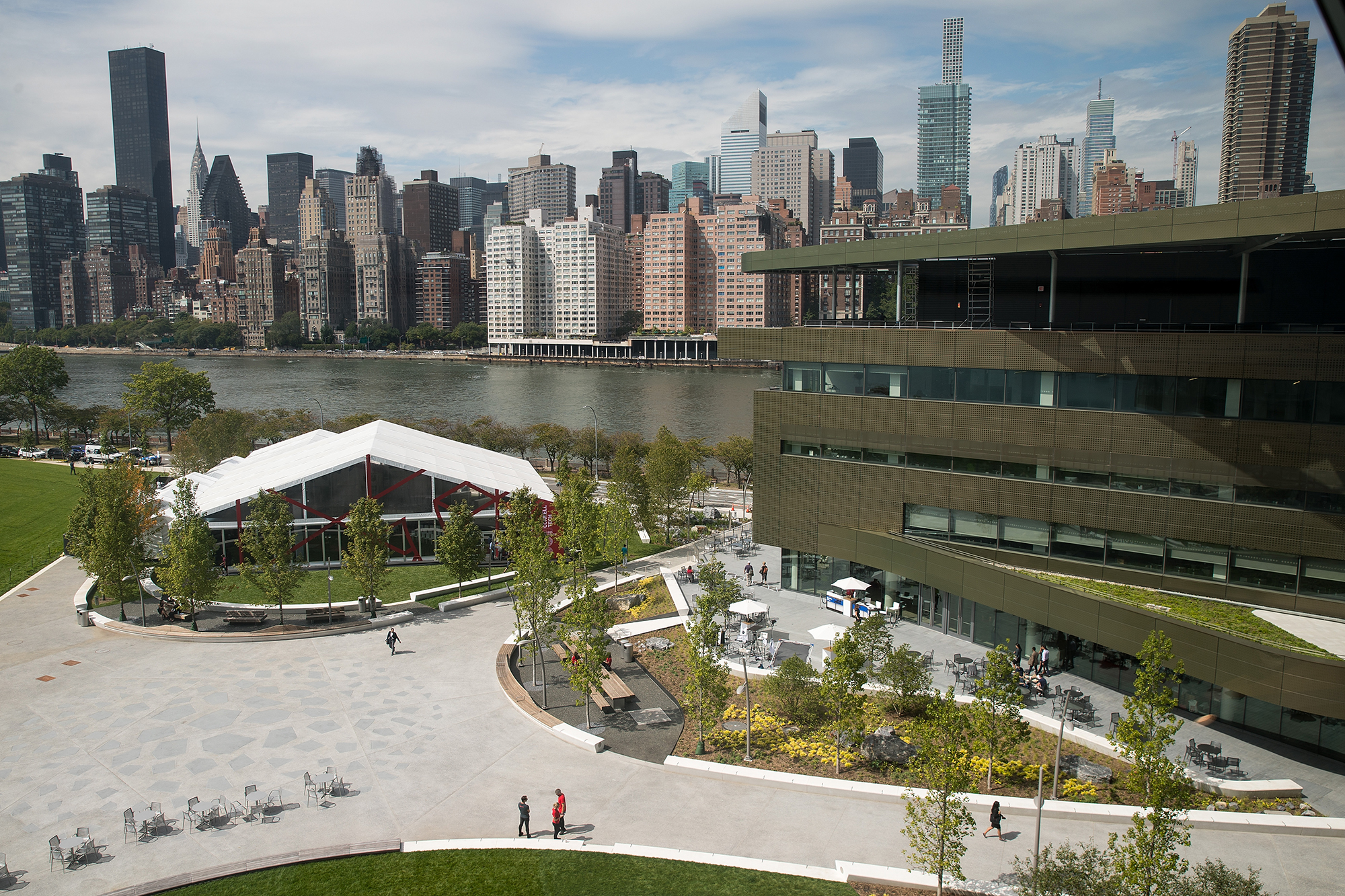 Cornell Tech campus was the result of an international competition for $100m and land Photo: Getty