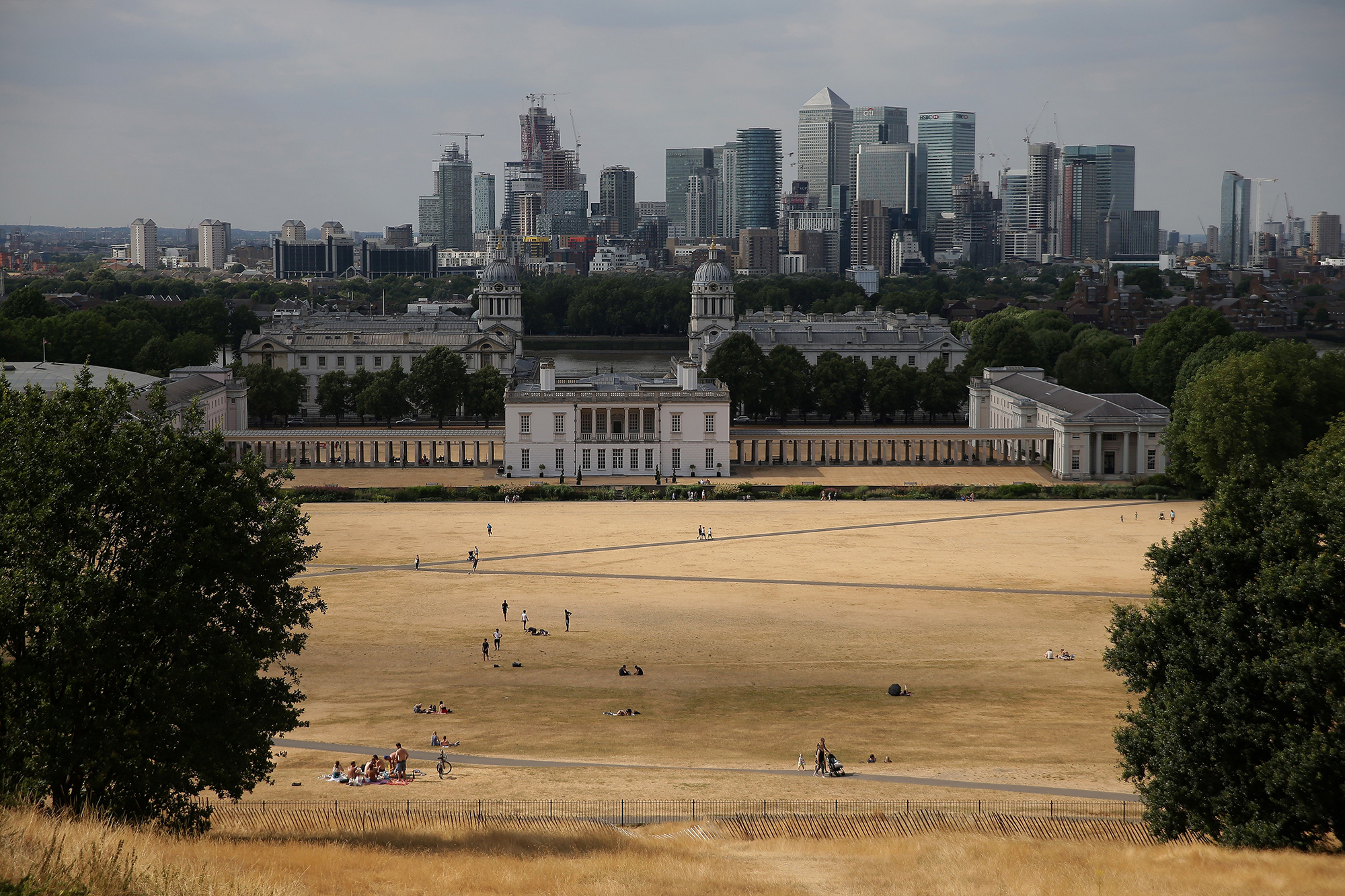 An unusually long heatwave last summer turned parks into 'tinderboxes'. Photo: Getty