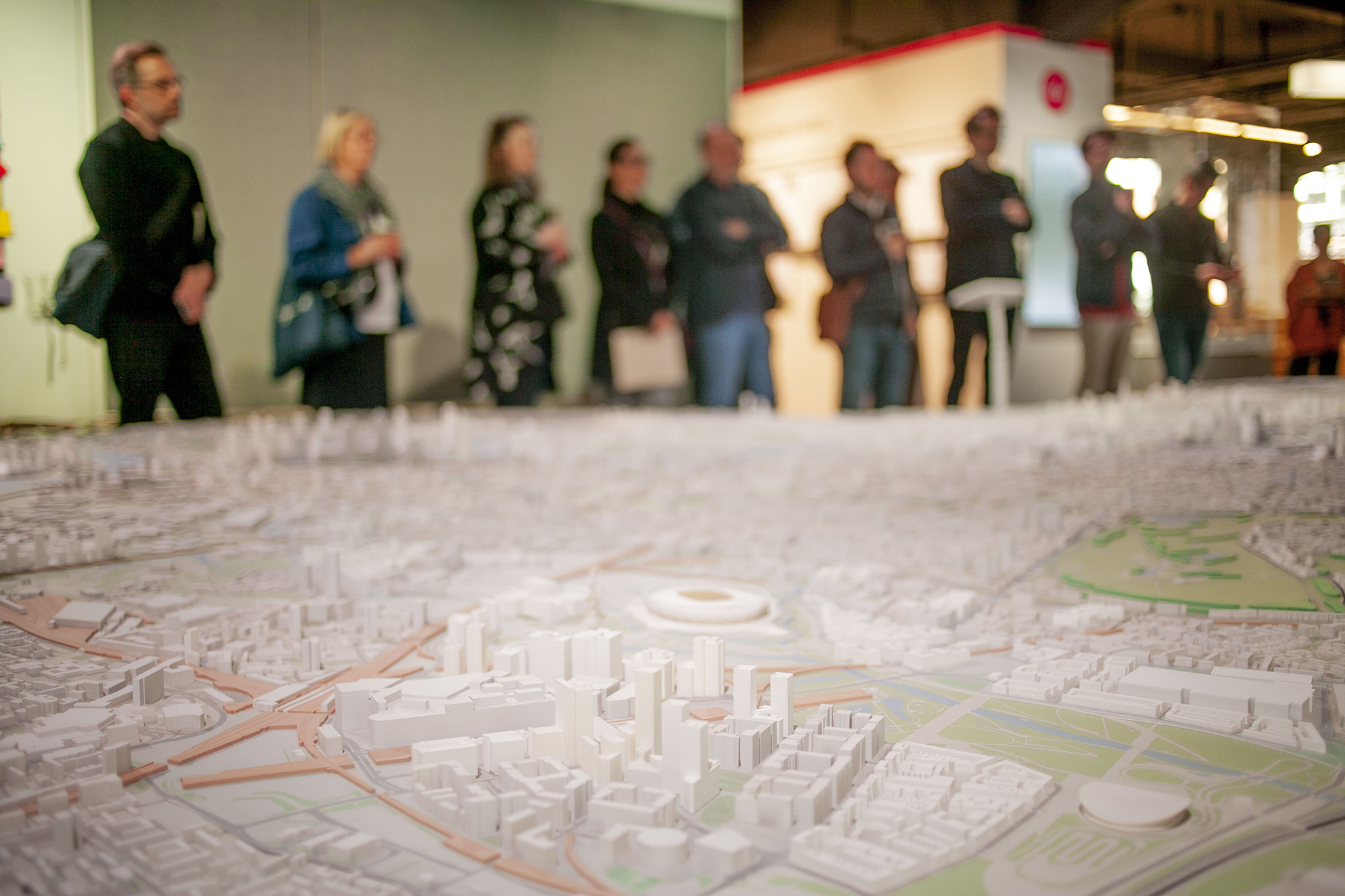 International Council, with Building Centre's model of London. Photo: Marina Piedade