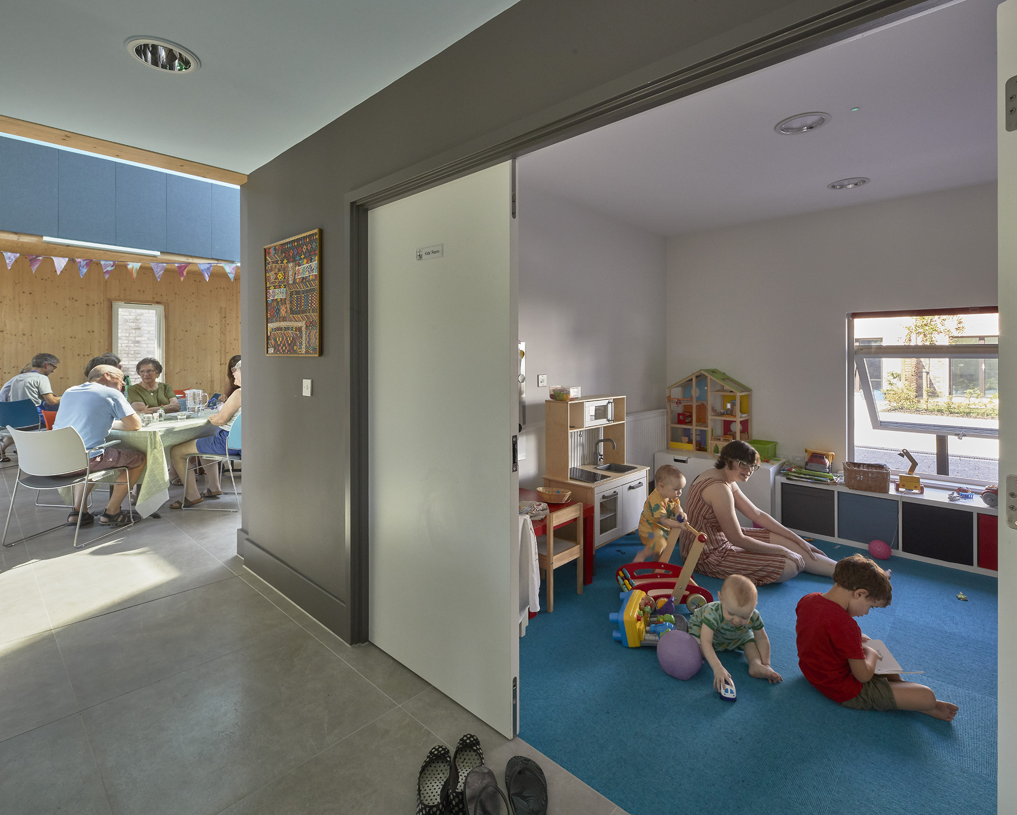 """""""It's an easier place for families and young mothers with children to live as there is support"""""""