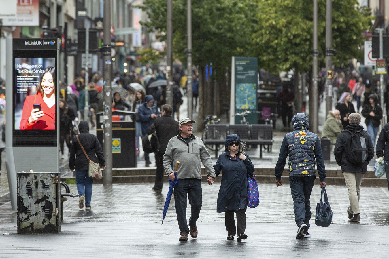 Sauchiehall Street is the number one retail district in the UK outside of London's West End