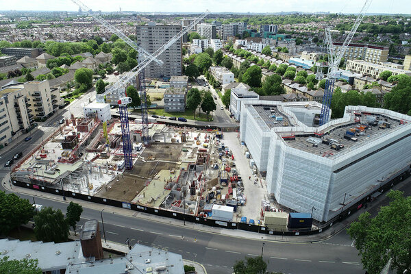 Residents vote in favour of 1,400-home regeneration in north-west London