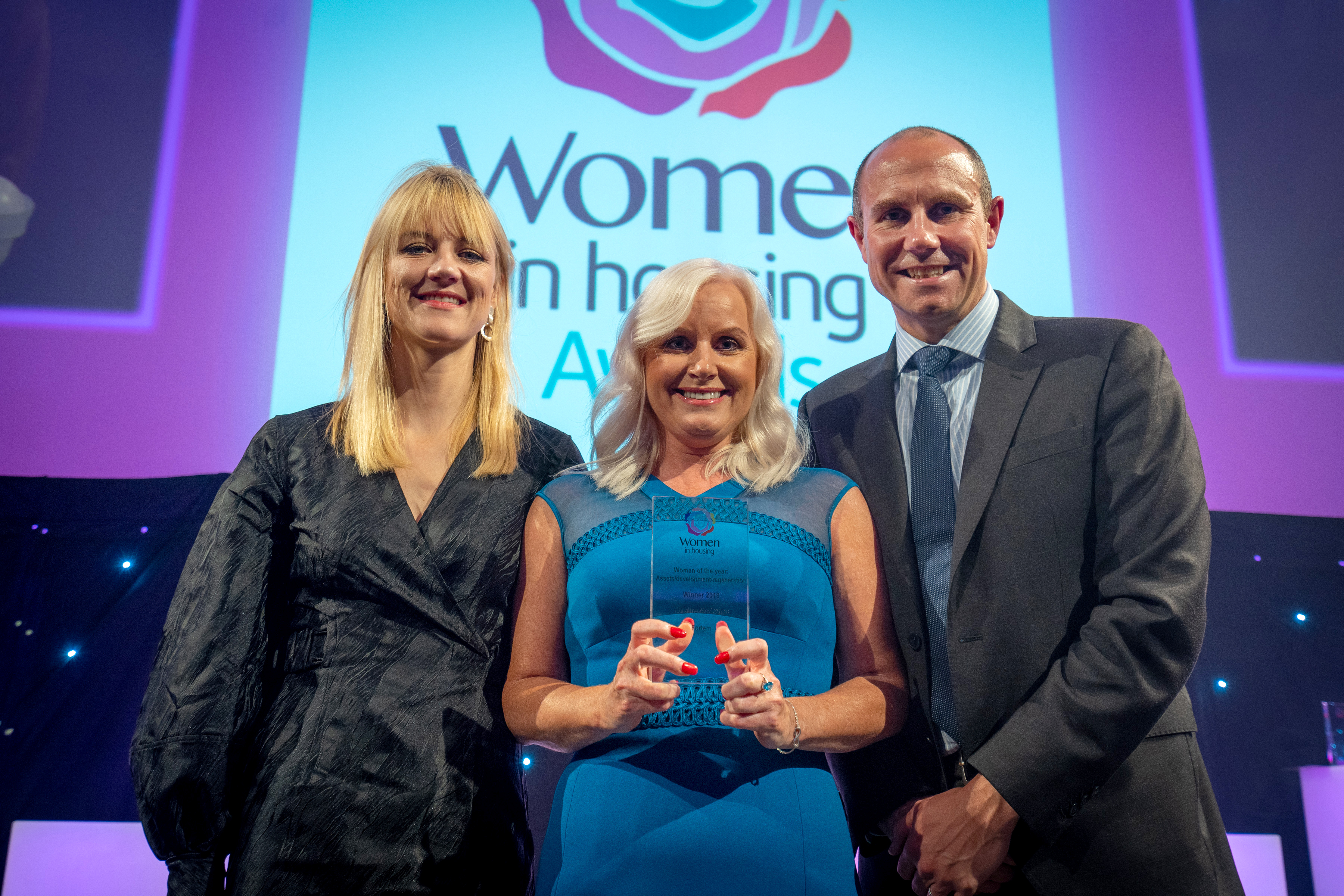 Woman of the year: assets/ development/ regeneration