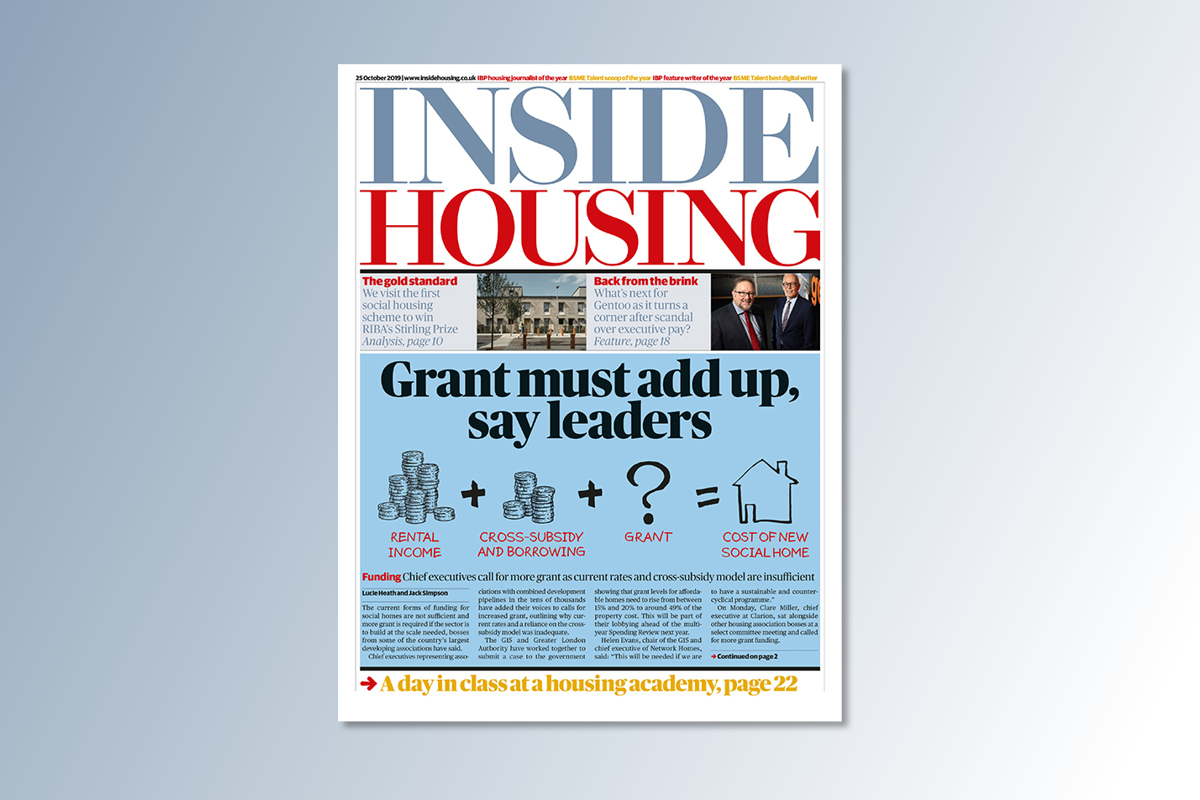 25 October digital edition of Inside Housing out now