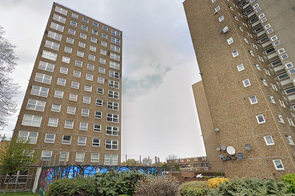 Four blocks on the Ledbury Estate face demolition (picture: Google Street View)