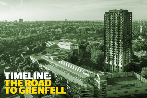 Timeline: the road to Grenfell