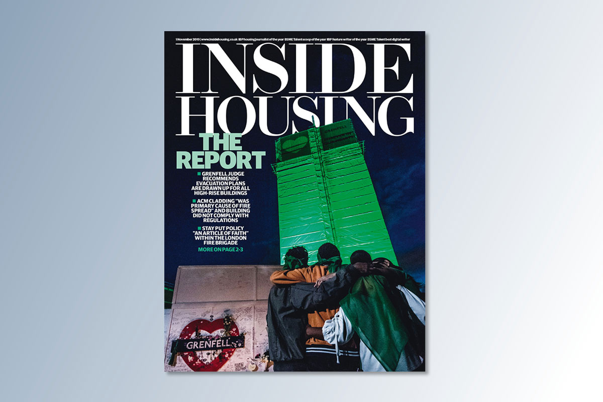 1 November digital edition of Inside Housing out now